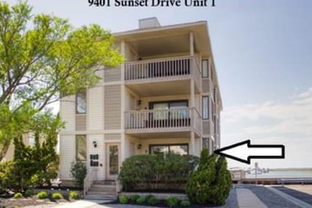 Stone Harbor 2bed/2bath, waterviews, boat slip. - コンドミニアム