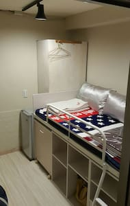 獨立套房 有WIFI 有小米盒子 可以機場接送,費用另計。 - Ház