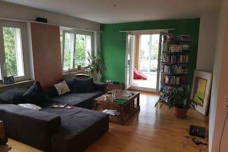 Entschleunigung im Grünen, mit guter ÖV-Anbindung - Appartamento