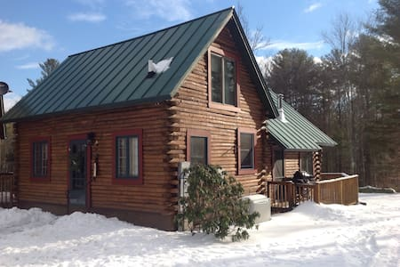 Cowshed Cabin farm - West Windsor - Zomerhuis/Cottage