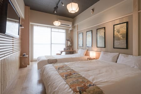 [Cozy Japanese Room] Shin-Osaka 8min walk FreeWifi - Apartment