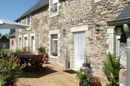Longère de charme proche mer, St Malo, Dinan - Ploubalay - Rumah