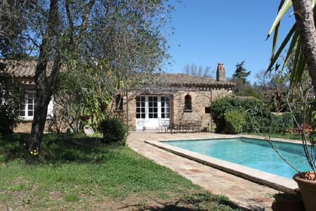 Provencal house with swimming pool - Grimaud