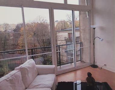 Loft 70m² pres de paris - Appartement