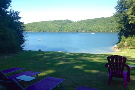 Gîte*** avec accès direct au lac ! - Flat