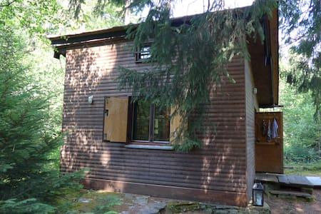 Waldhütte im Chiemgau - Eggstätt - Blockhütte