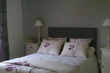 Chambre d'hôtes avec vue panoramique - Dieulefit - Oda + Kahvaltı