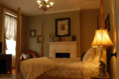 ALLEGHENY INN: THE DARWIN ROOM - HEART OF THE HOME - Pittsburgh - Bed & Breakfast