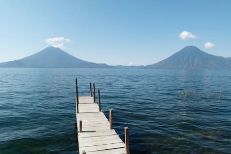 Casita Kolibri am Lago Atitlan in der Bay Paxanax - Vendégház