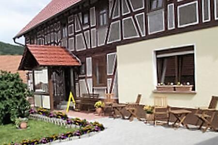 Willkommen bei Oma Sahne am Wachtelhof Fischer - Apartment