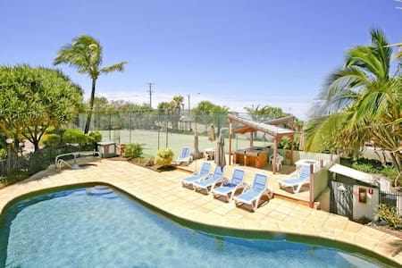 Great Double Room With Use of Pool, Tennis and Spa - Sunrise Beach