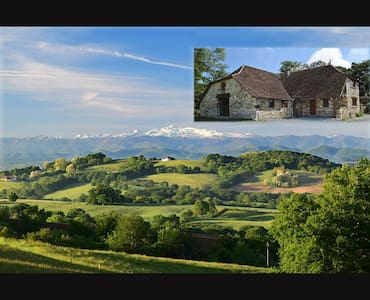 Beautiful house with the best view in France! - Castetbon - Haus