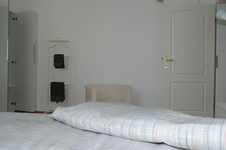 Morges, chambre neuve dans le centre, +4 - Morges