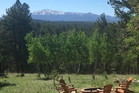 Rocky Mountain Log Cabin/\3 Bedroom/\5 Acres/\View - Florissant - Cabane