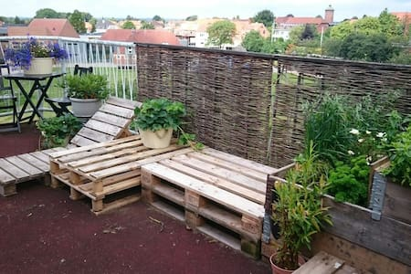 Apartment with private roofterrace - Randers - Apartment