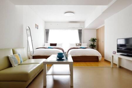 NAMBA Cozy  apartment, Free WiFi - Naniwa Ward, Osaka - Apartment