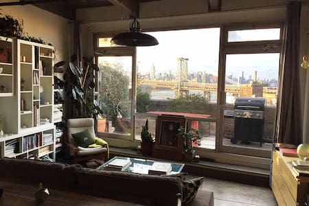 Artist's Loft with Skyline Views