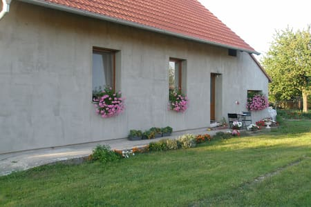 Village house with nice garden - House