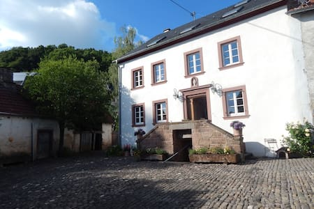 Relaxen in 300 Jahre altem Hofgut 4-10 - Basberg - Bed & Breakfast