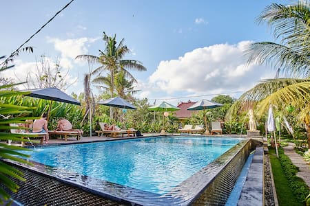 Cozy Deluxe Room with Garden View #Lembongan - Nusapenida - Bungalow