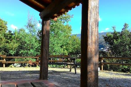 Refúgio da Cascata da Cabreia - Silva Escura - Cabin