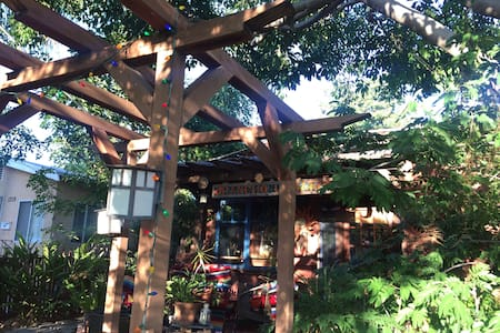 It's a tree room!!  Lots of light! - Loftlakás