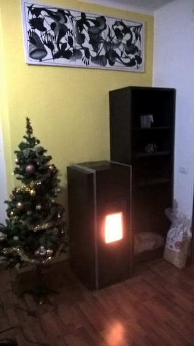 The awesome Fireplace