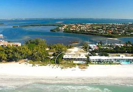OCEAN FRONT Studio From $90/nt, Nov 9 - Dec 21 - Longboat Key - 公寓