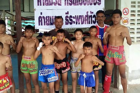 Learning Real Thai boxing - Apartament