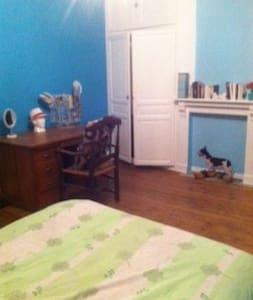 Chambre dans une maison de caractère - Grenay