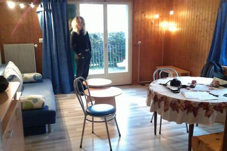 Cosy, modern, ski and summer central Morgins flat. - Morgins - Lägenhet