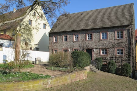 "Schloss Adelsberg - Zimmer ""Saale"" - Gemünden am Main - Daire"