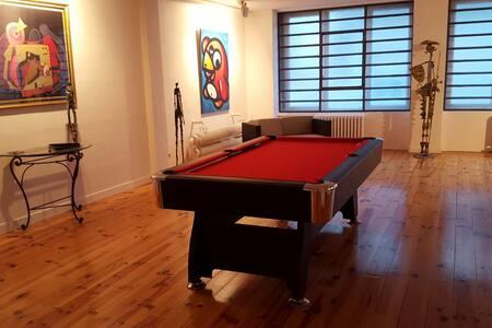 2 ch. privées dans loft de 300 m2 - Saint-Étienne - Loft