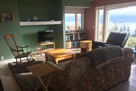 Bright quiet rural private suite - Enderby - House