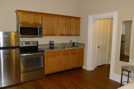 Comfort, style and complete peace of mind in a professional building in the heart of Cincy. Walk to UC, hospitals, downtown, etc. 2 min to highways & several bus routes.  Great for business, study or just a visit. Welcome to your home away from home.