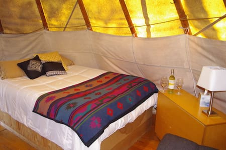 Tipi on 10 Acres in Wine Country - Tipi (indián sátor)