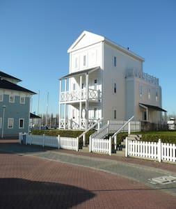 Beach house op fantastische plek - Hellevoetsluis