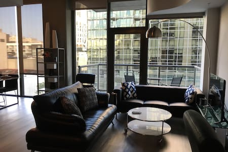 Luxury Modern Highrise 2bd/2br Next to Staples! - Los Angeles - Apartment