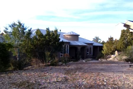 Nestled in the Sandia Mountains