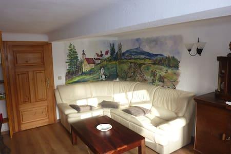 Ferienwohnung in Leina+Fahrservice - Leinatal