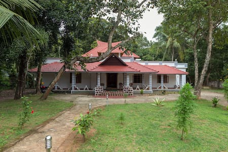 Home away from Home-2 Bedroom Cottage-Mararikulam - Hus