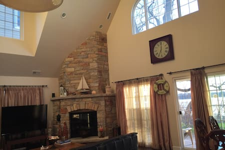 Lake House/Ski House - sleeps 10 - Antioch - Maison