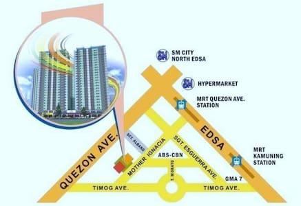 Affordable Cosy and Condo living in QC Philippines - Quezon City - Condominium