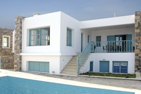 Caly villa- Mohlos- 9 persons+pool - Lasithi - Villa
