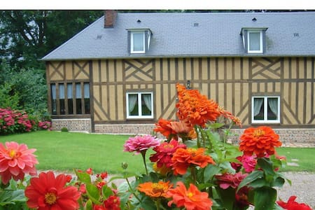Gite de charme dans le Pays d'Auge - Boissey - Huis