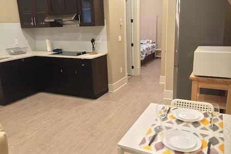 New 1 Bdr 1bath Private Suite at Richmond Ctr - Richmond