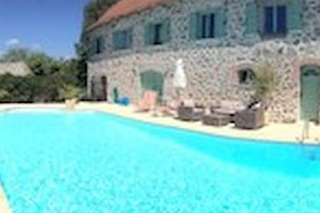 Le Coin Perdu  Stunning Gite + Pool - Montsalvy - Appartement