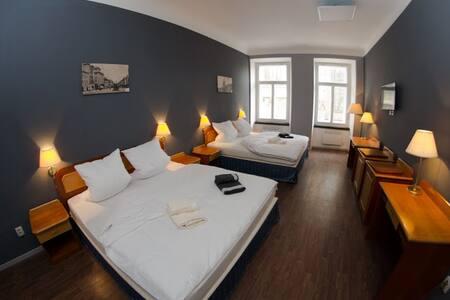 Apartmán pro 6 osob v centru města - Lejlighed