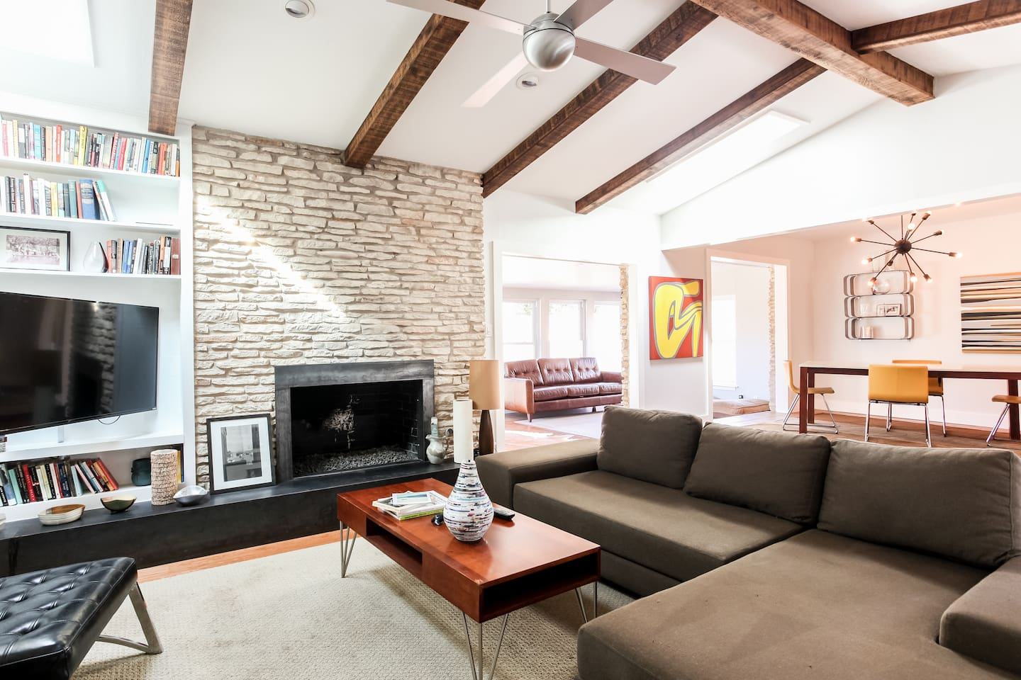 Guests are encouraged to take advantage of an expansive living area