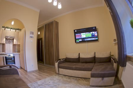 Ciche mieszkanie na Starówce - główny deptak, I p. - Apartmen